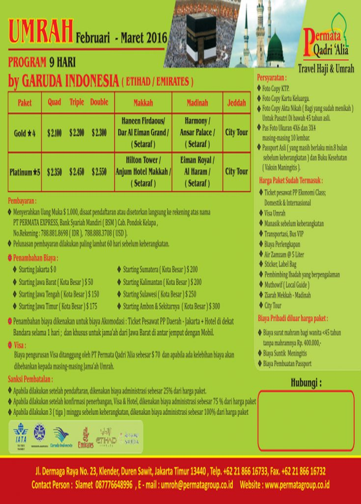 Program 9 Hari Feb-Mar 2016